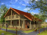 Recreatie chalets / Landhuizen - Forest Lodge