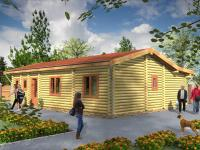Recreatie chalets - Blue Lodge 4