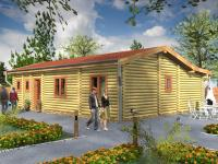 Recreatie chalets / Landhuizen - Blue Lodge 6