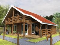 Recreatie chalets - Huys Lodge